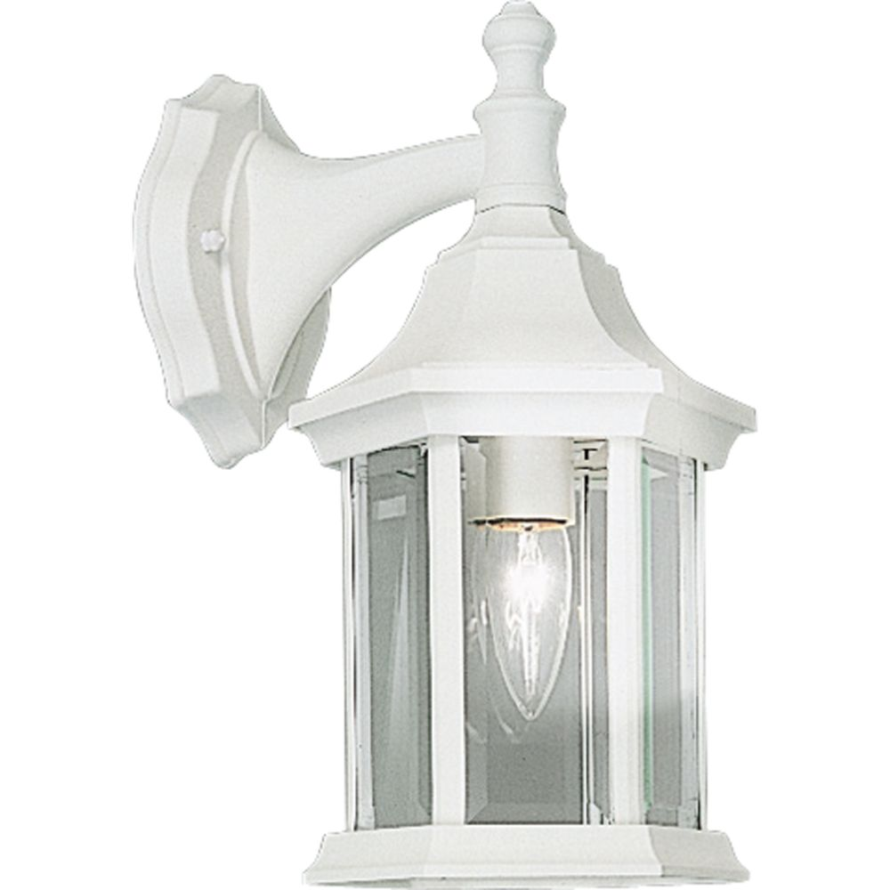 Cast Series Collection White 1-light Wall Lantern