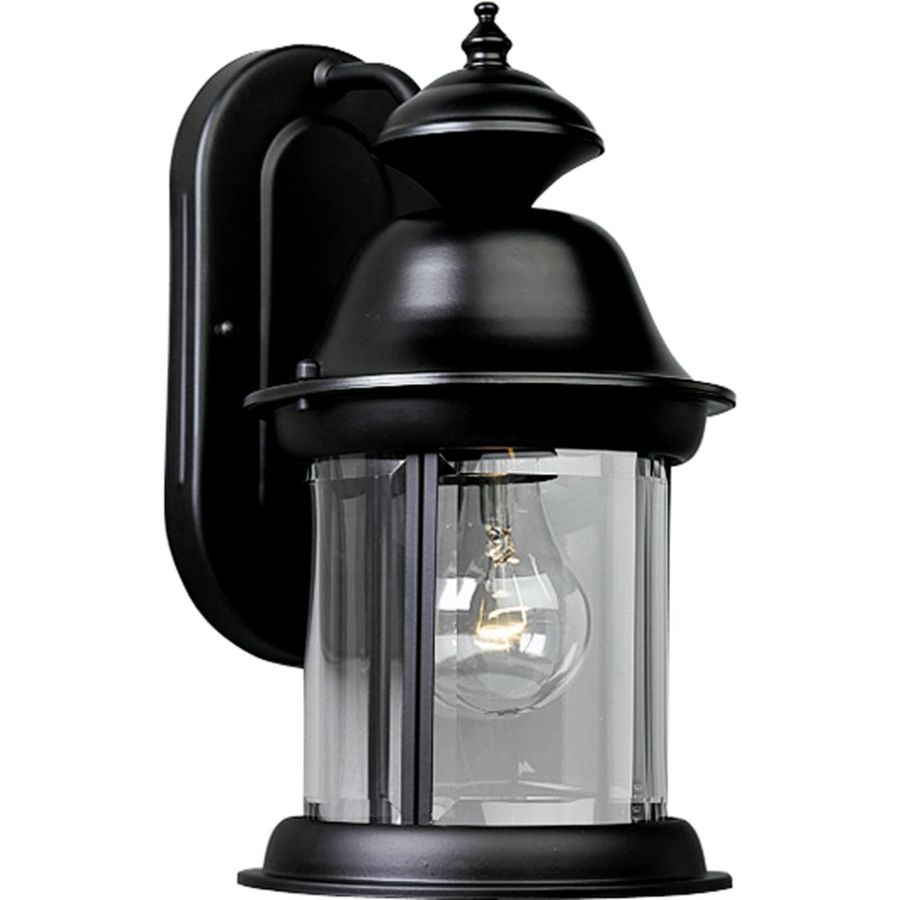 Carriage Classics Collection Textured Black 1-light Wall Lantern