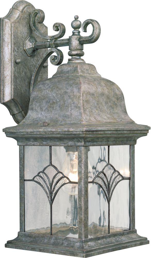 Lanterne murale à 1 Lumière, Collection Tiffany - fini Baroque d'or