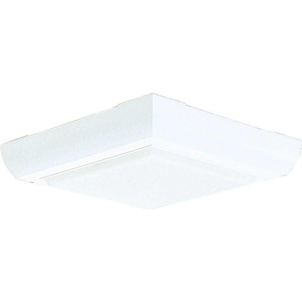 Flushmount Fluorescent Lighting Fixture