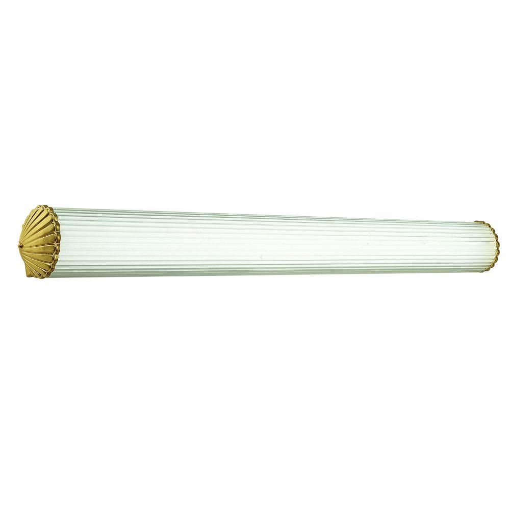 Polished Brass 2-light Wall Bracket