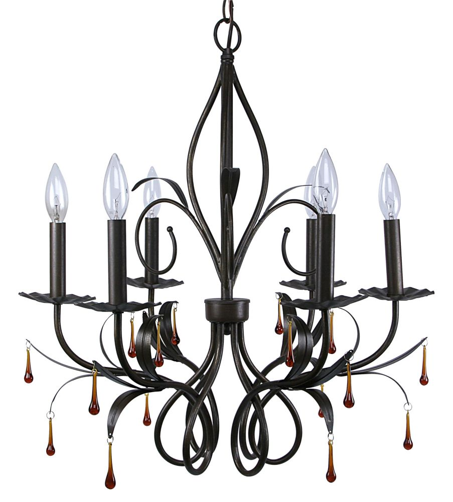 Angeline 6L Chandelier