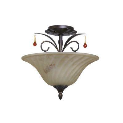 Plafonnier Angeline, 2 ampoules