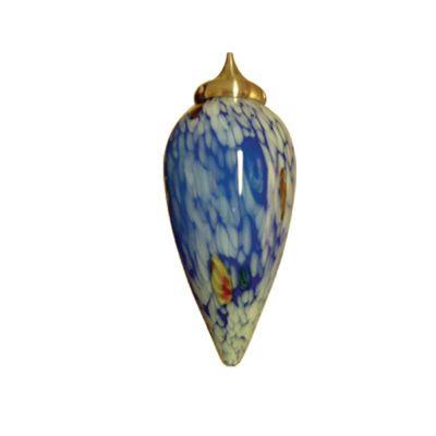 Suave Blue Artglass Pendant