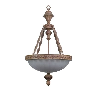 Santa Fe Desert Rose Bowl Pendant Light