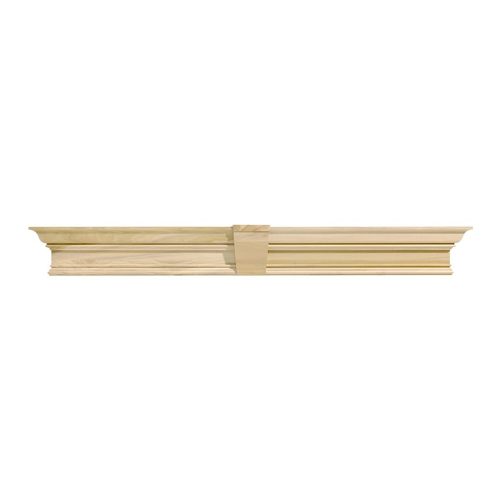 Single Georgian Pediment