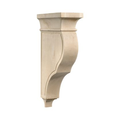 Plain Bar Corbel, Maple