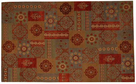 Gem Gypsy 8 Ft. x 10 Ft. Area Rug