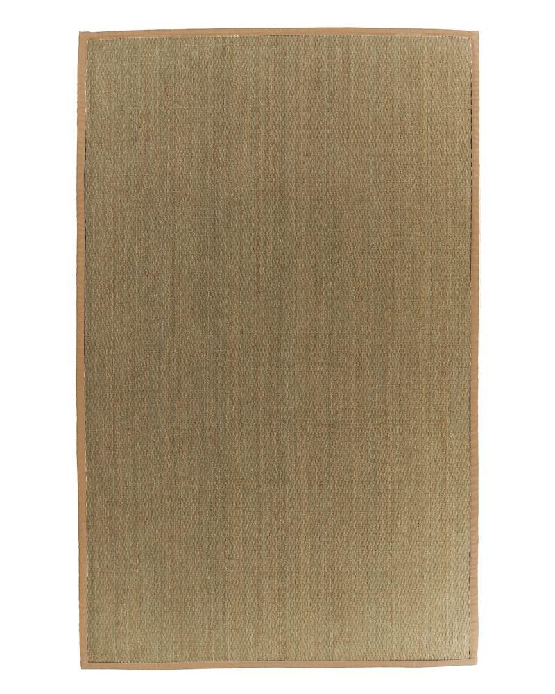 Seagrass 5x8 Bordure Miel #37