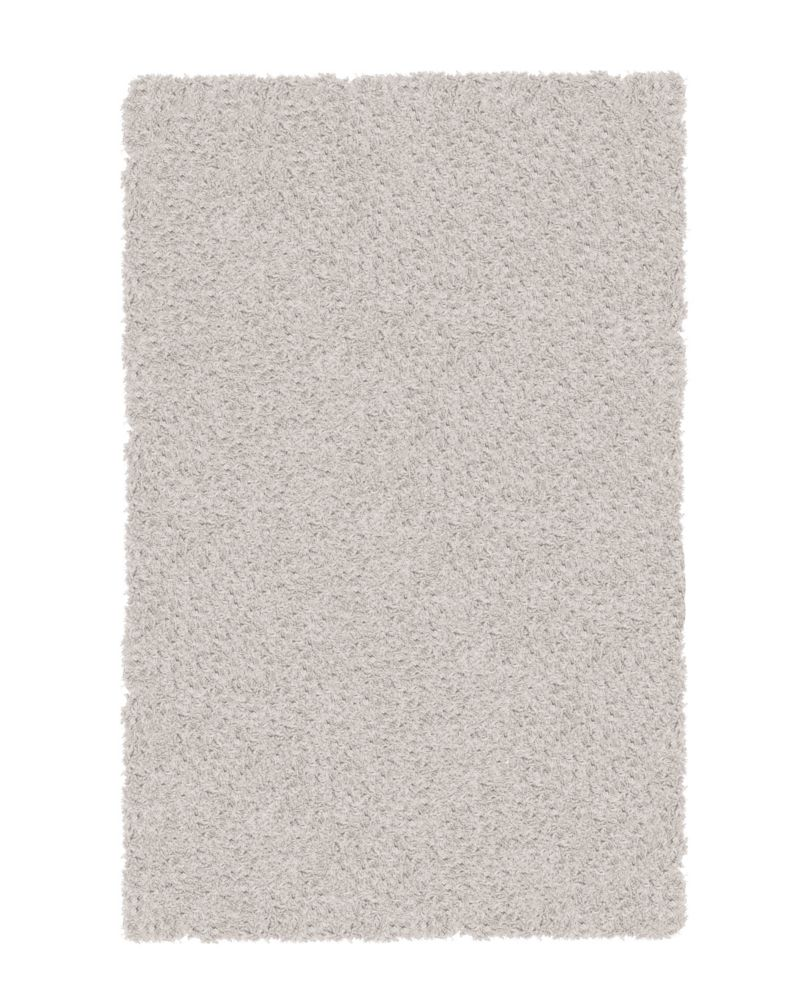 Shag-A-Liscious White 9 Ft. x 12 Ft. Area Rug