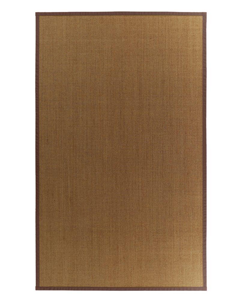 Natural Sisal 8x10 Bound Brown #39