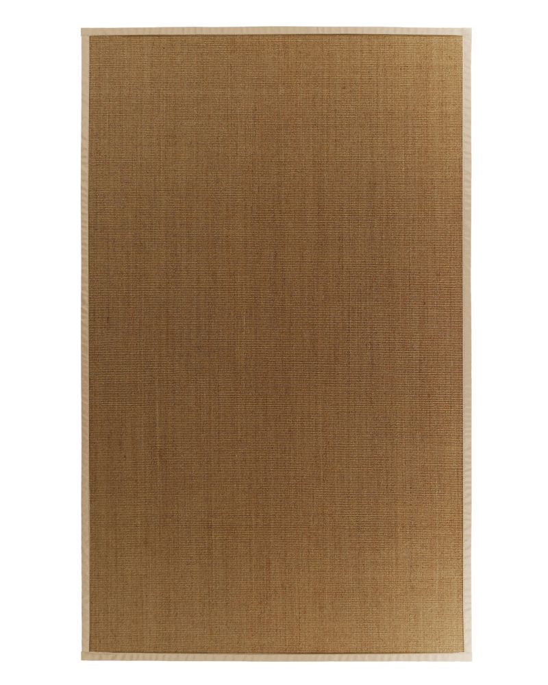 Sisal Naturel 8x10 Bordure Miel #37