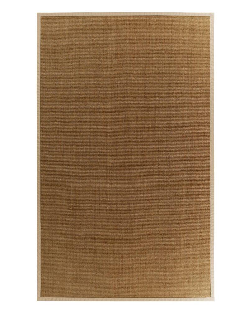 Lanart Rug Natural Sisal Beige Tan 8 ft. x 10 ft. Indoor Textured Rectangular Area Rug