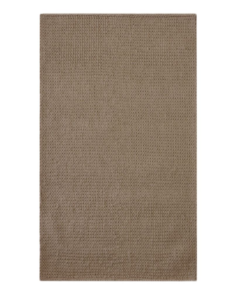 Taupe Cardigan 4 Ft. x 6 Ft. Area Rug