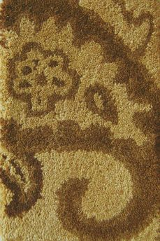 Gold Florence Area Rug - 5 Feet x 7 Feet 6 Inches