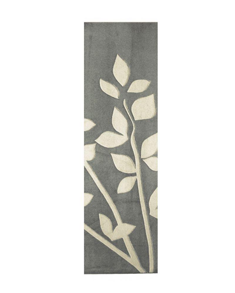 Tapis Gardenia Glaise 2 Pi. x 8 Pi.