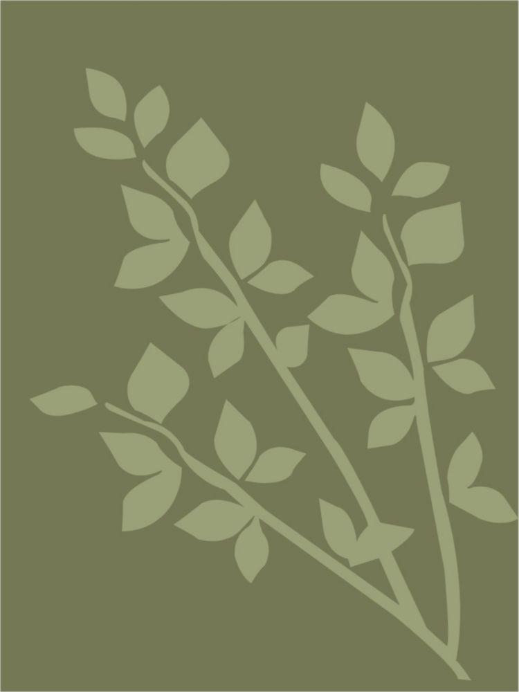 Olive Gardenia 2 Ft. x 8 Ft. Area Rug