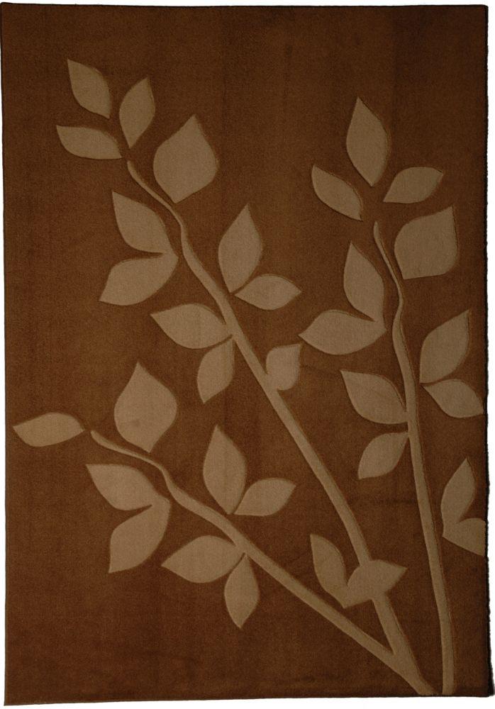 Tapis Gardenia Sable 4 Pi. x 6 Pi.