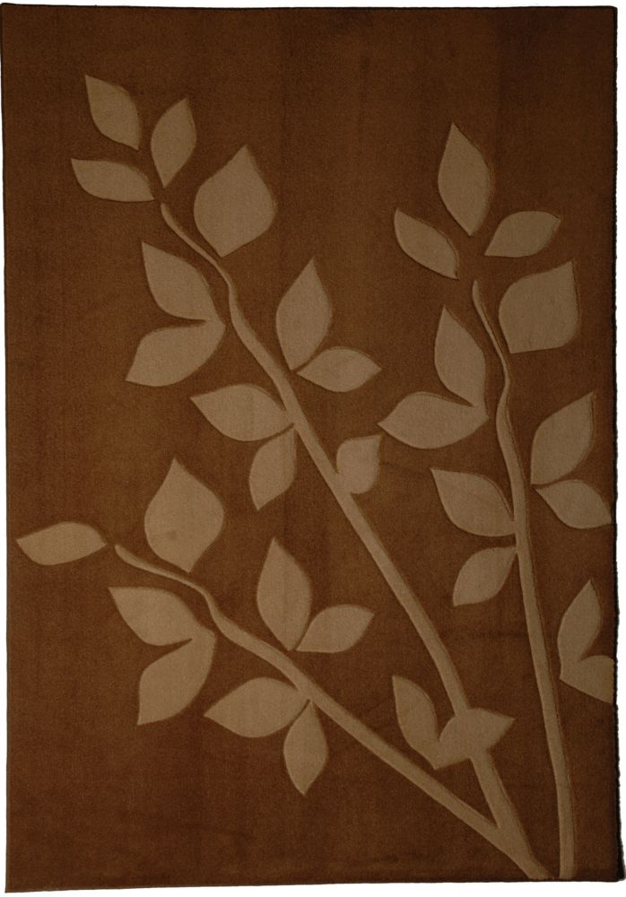 Sand Gardenia 8 Ft. x 10 Ft. Area Rug