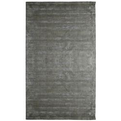 Lanart Rug Carpette d'intérieur, 5 pi x 8 pi, tissage texturé, rectangulaire, gris Luminous