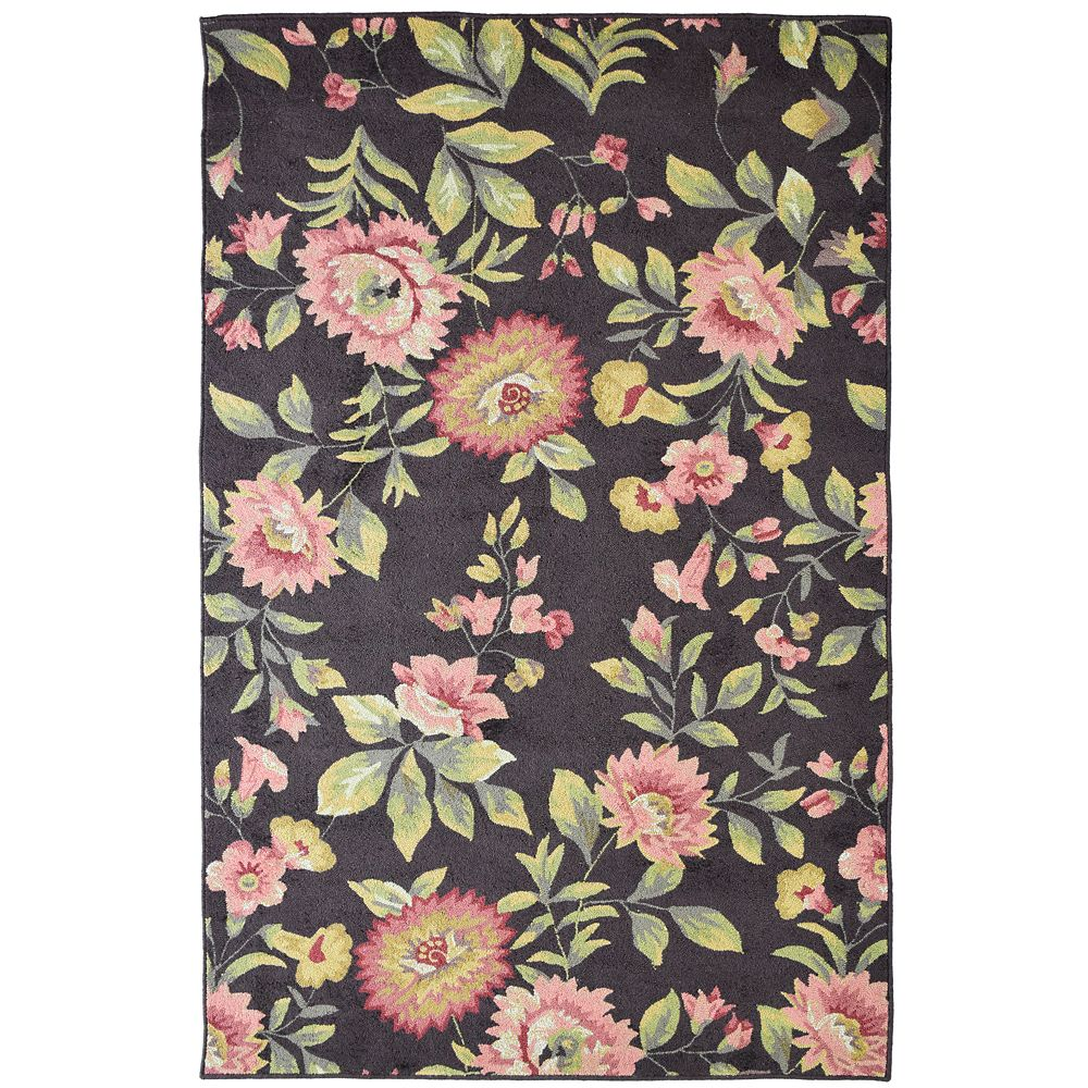 Chocolate Martha's Vineyard 2 Ft. 6 In. x 8 Ft. Area Rug