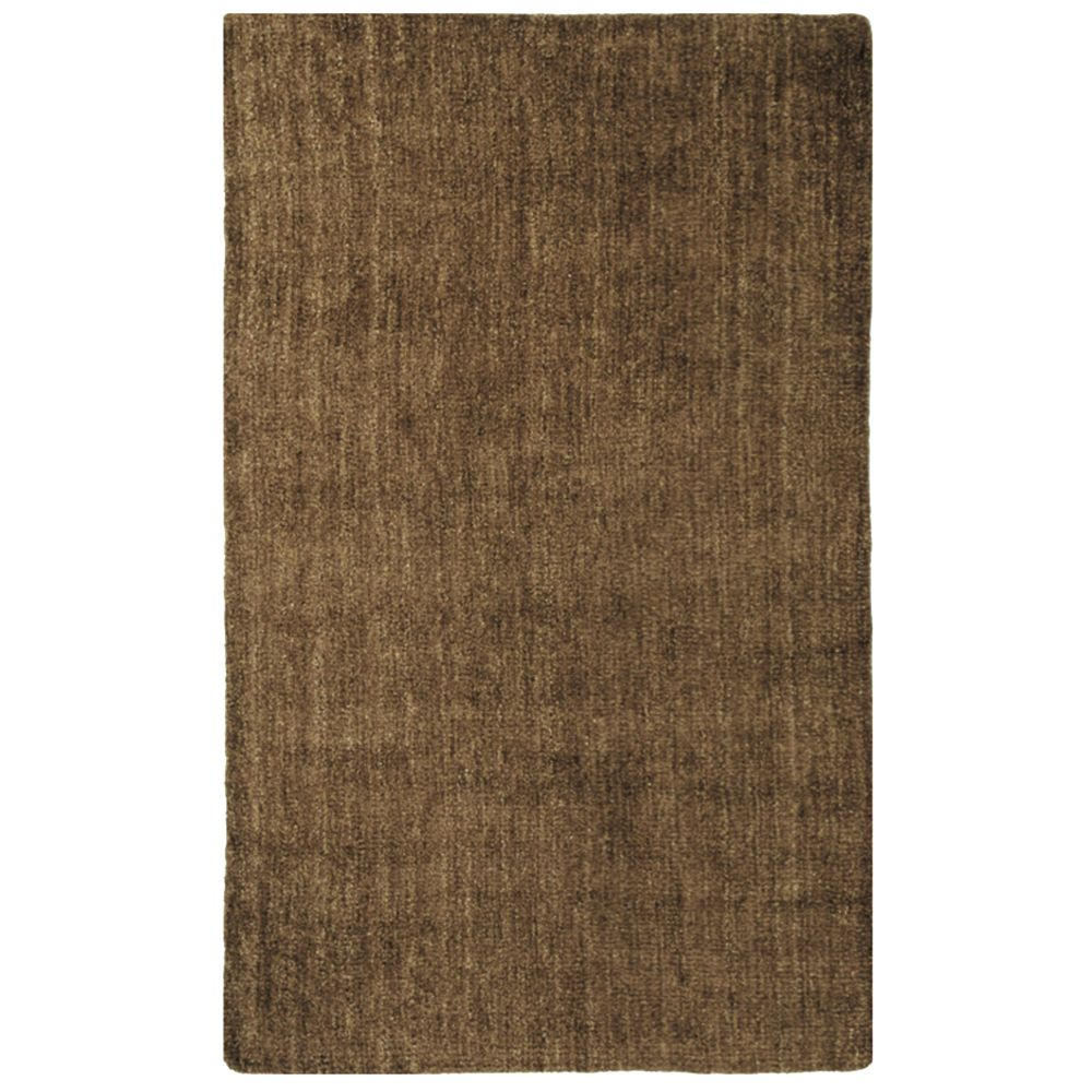 Brown fleece 8 ft x 10 ft area rug fleece810bn canada for Cheap contemporary area rugs