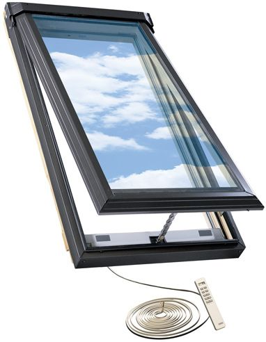 21-inch x 46.25-inch Electric Venting Skylight