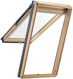 30.62-inch x 55-inch Top Hinged Roof Window