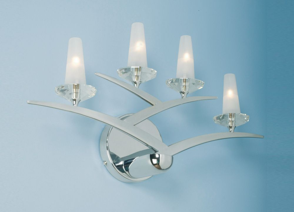 Hattie 4 Light Wall Sconce
