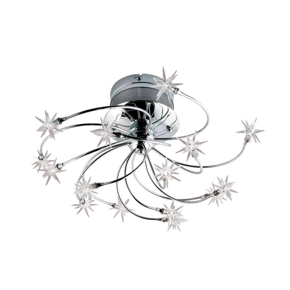 Starburst 15 Light Semi-Flushmount 12898-015 Canada Discount