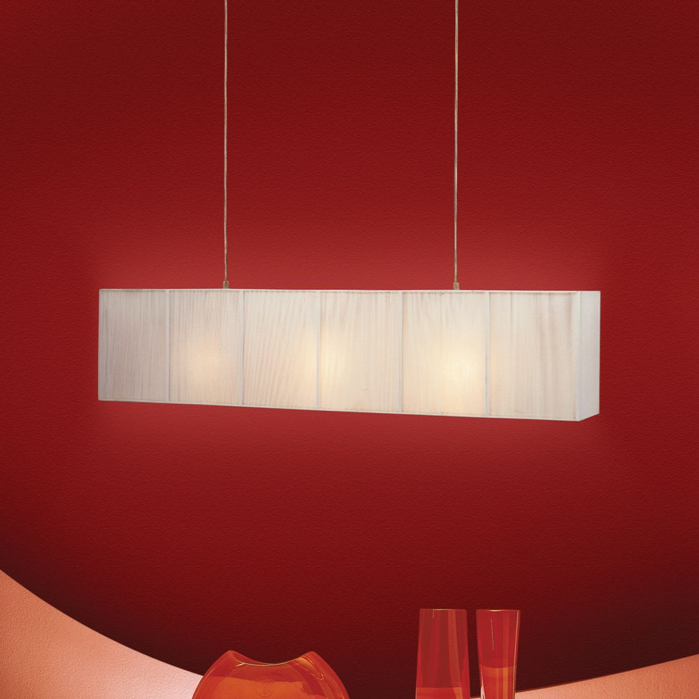 Canly Collection 3 Light Chrome Pendant