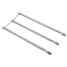 Replacement Stainless Steel Burner Tube for Genesis Silver/Genesis Gold/Spirit 700 Series (3-Pack)