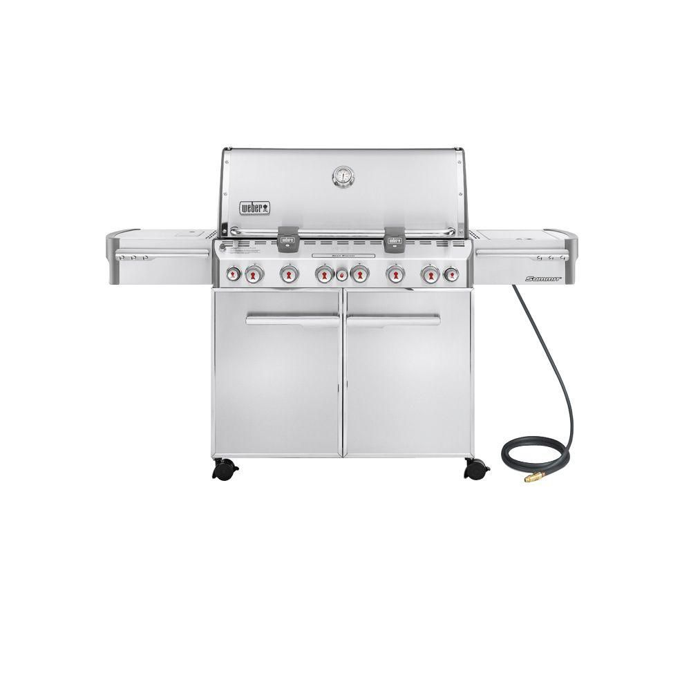 Summit S-670 barbecue au gaz naturel