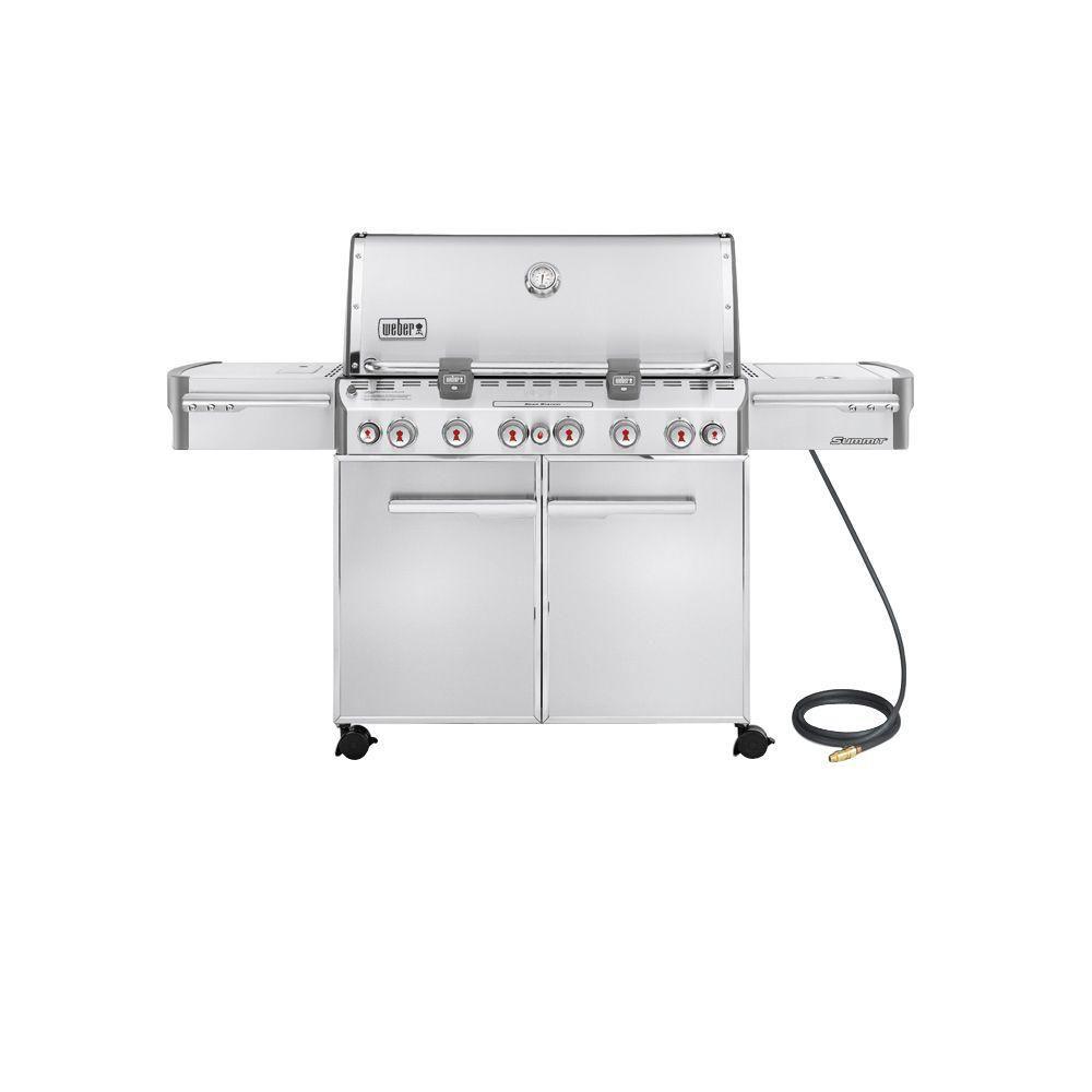 Summit S-670 barbecue au gaz naturel