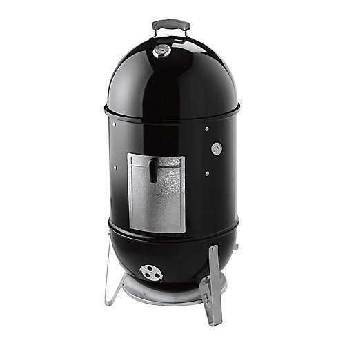 Smokey Mountain 18.5-inch Vertical Charcoal Cooker in Black