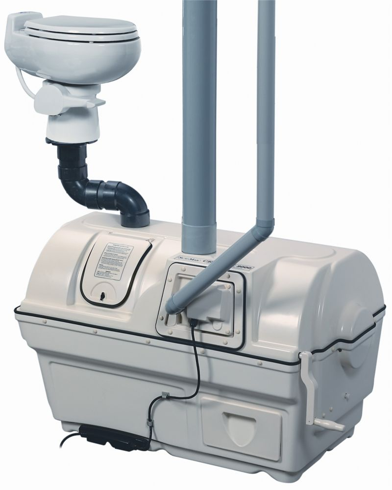 Centrex 2000 AC/DC Composting Toilet