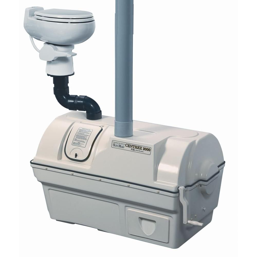 CENTREX 2000 NE Central-Flush Composting Toilet System