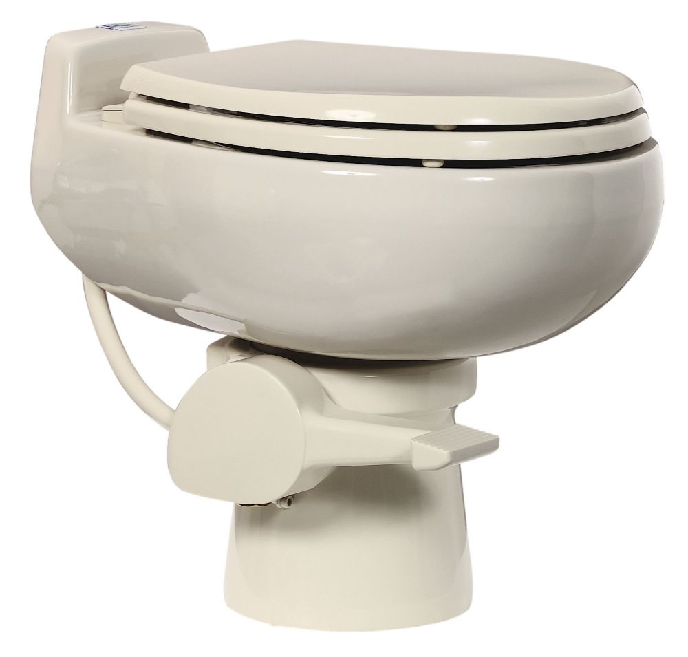 510+ 1 Pint Non-electric Composting Toilet in Bone