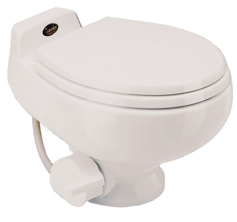 511+ 1 Pint Non-electric Composting Toilet in Bone