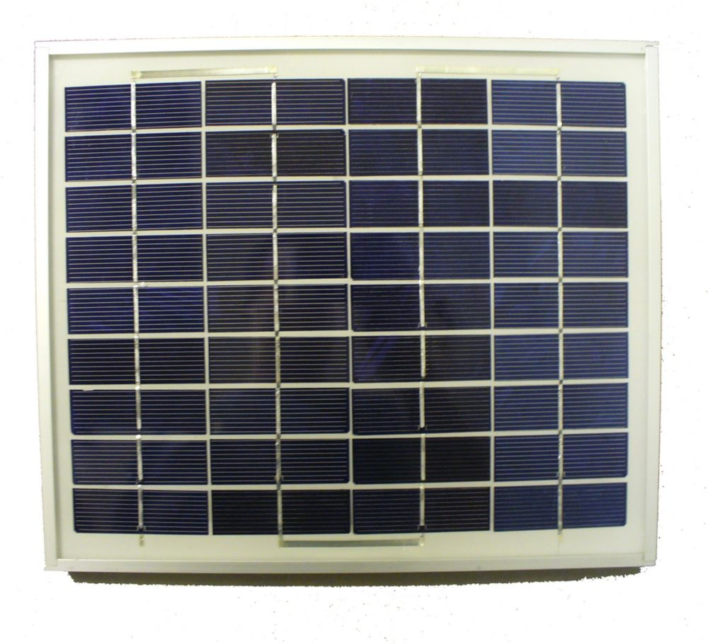 10 W Solar Panel for Sun-Mar 12V Fan