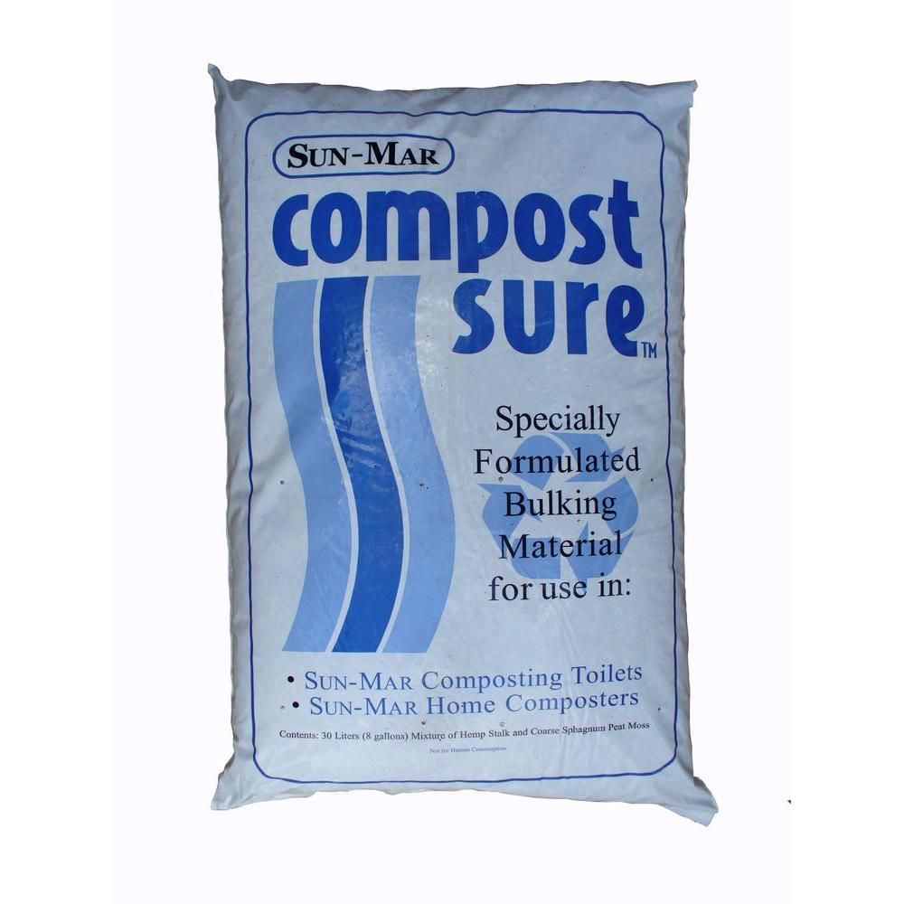 Compost Sure Bulking Material for Composting Toilet (Blue)