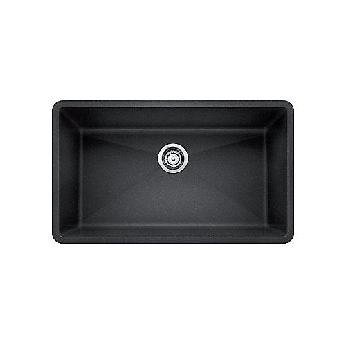 Silgranit, Natural Granite Composite, Kitchen Sink, Undermount, Anthracite