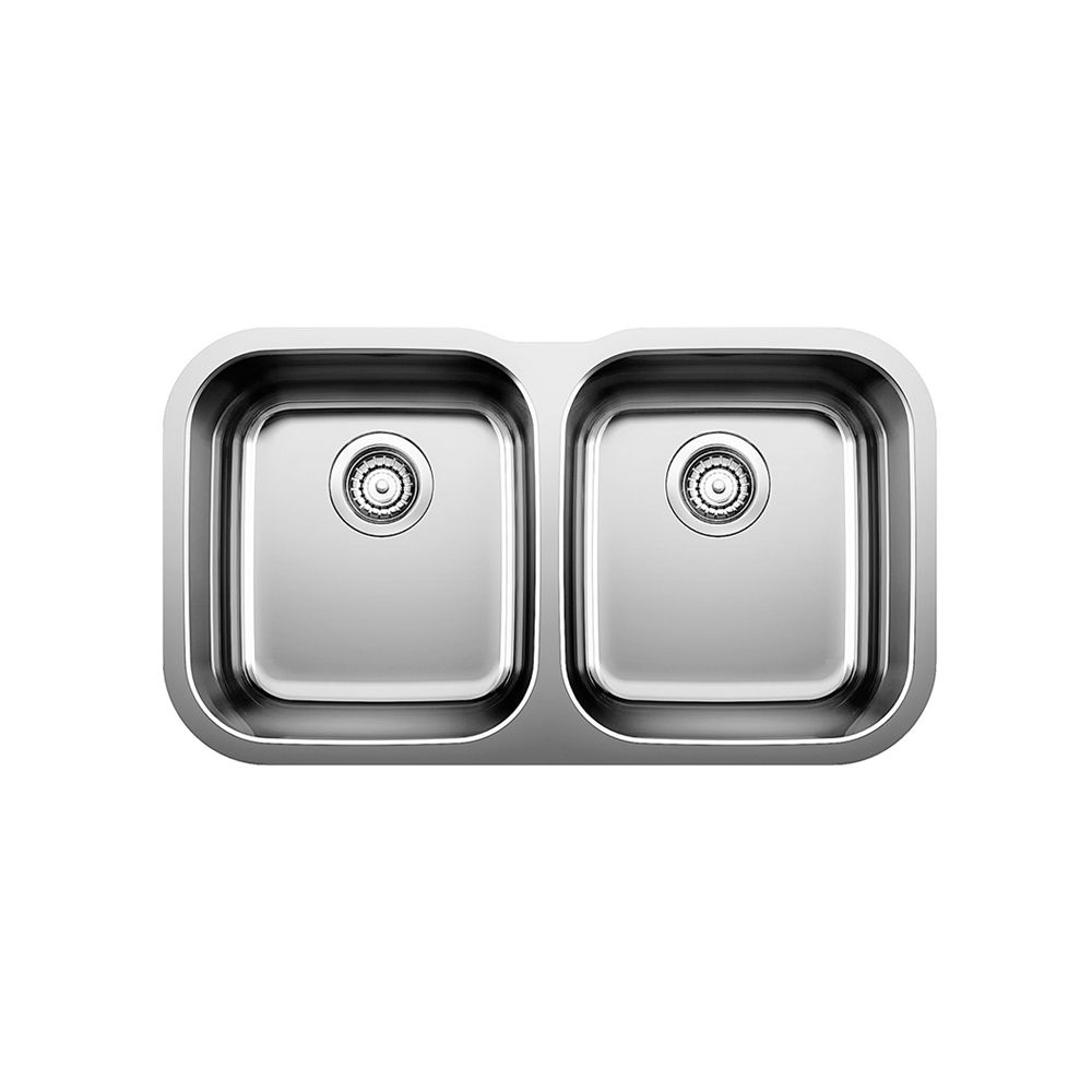 Undermount 2 Bowl Stainless Steel Kitchen Sink