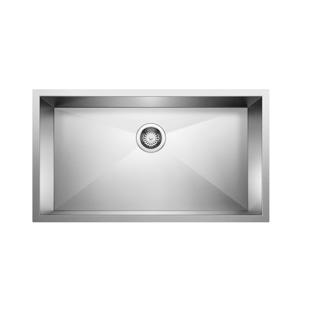 Premium Handcrafted Stainless Steel Sink, Undermount