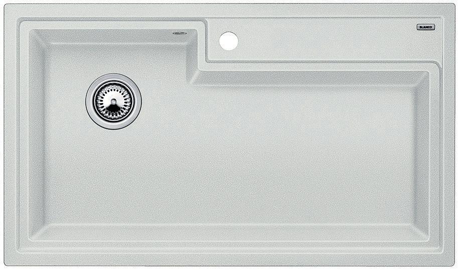 Silgranit Natural Granite Composite Kitchen Sink, Drop-In Or Undermount, Silk