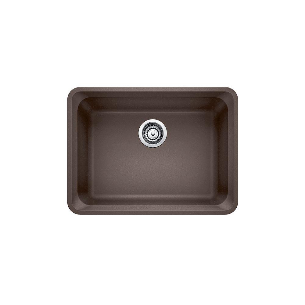Silgranit Natural Granite Composite Kitchen Or Island Sink, Undermount, Café
