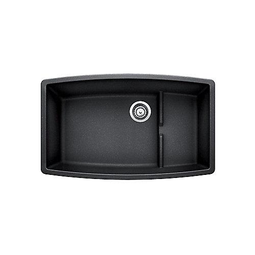 Performa Cascade Single Bowl Undermount Kitchen Sink, SILGRANIT Granite Composite