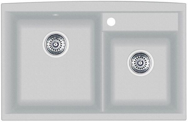 Silgranit Natural Granite Composite Kitchen Sink, Drop-In Or Undermount, Silgranit Silk