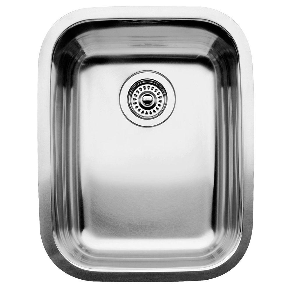 Blanco Single Bowl Undermount Stainless Steel Kitchen Sink