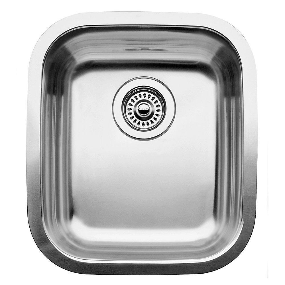 Supreme U  Bar and Prep Sink, Undermount, Stainless Steel